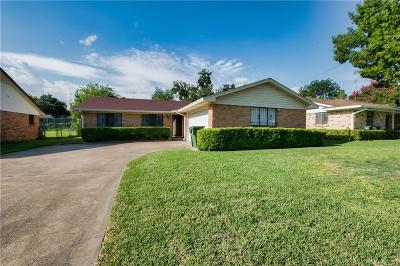 Garland Single Family Home Active Option Contract: 1234 Carroll Drive