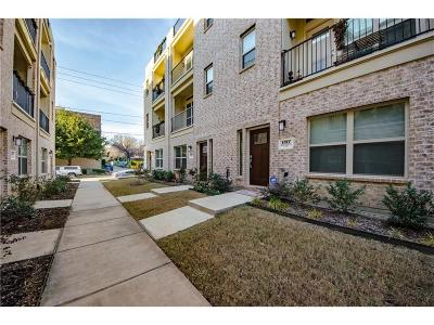Dallas Townhouse For Sale: 1317 Palm Springs Lane