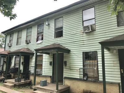 Dallas Multi Family Home Active Option Contract: 1724 Pear Street