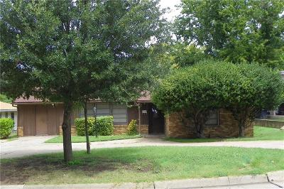 Fort Worth Single Family Home For Sale: 3404 W Fuller Avenue