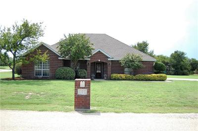 Aledo Single Family Home Active Option Contract: 101 Crosswind Court