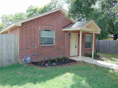 Denton Single Family Home For Sale: 1504 Morse Street