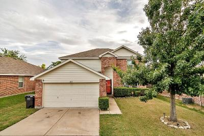Fort Worth Single Family Home Active Option Contract: 4933 Parkview Hills Lane