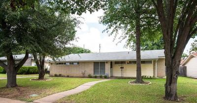 Irving Single Family Home Active Option Contract: 3514 Windsor Street