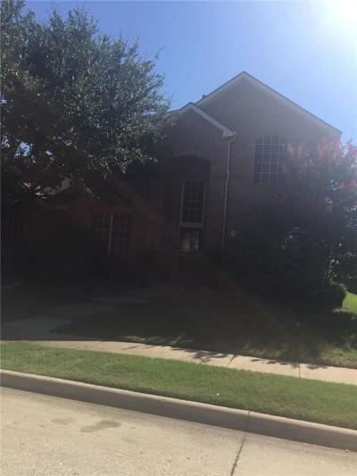 McKinney Single Family Home Active Option Contract: 3109 Woodson Drive