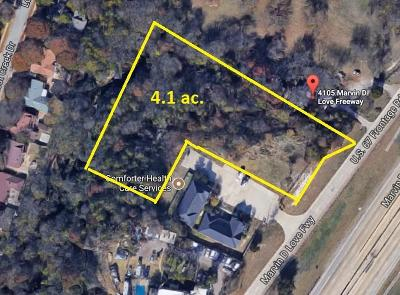 Dallas Residential Lots & Land For Sale: 4105 Marvin D Love