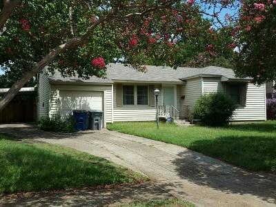 Dallas Single Family Home For Sale: 3135 Anzio Drive