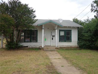 Brown County Single Family Home For Sale: 1607 Avenue E