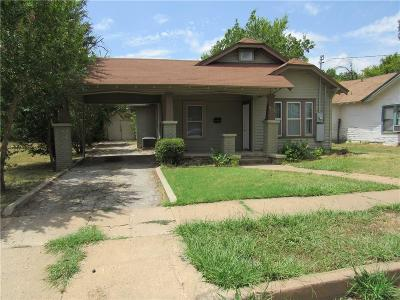 Brownwood Single Family Home For Sale: 1803 6th