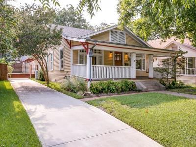 Dallas Single Family Home For Sale: 303 N Willomet Avenue