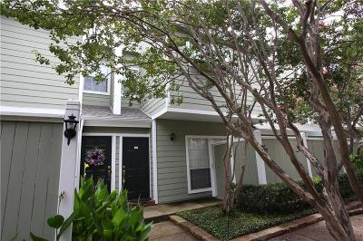 Dallas Townhouse For Sale: 6220 Bentwood Trail #604