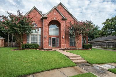 Keller Single Family Home Active Option Contract: 1604 Birchmont Lane