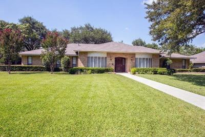 Dallas Single Family Home For Sale: 7151 Mossvine Drive