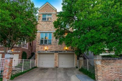 Dallas Townhouse For Sale: 931 Liberty Street