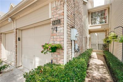 Dallas Townhouse For Sale: 8441 Towneship Lane
