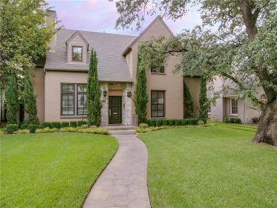 University Park Single Family Home For Sale: 4304 Southwestern Boulevard