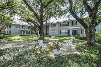 Dallas Condo For Sale: 6230 Bandera Avenue #6230D