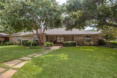 Dallas Single Family Home For Sale: 7206 Whispering Pines Drive