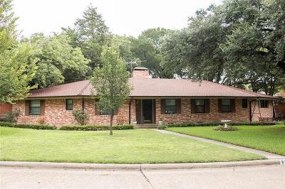 Dallas Single Family Home For Sale: 9816 Estacado Drive
