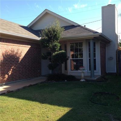 Denton Single Family Home For Sale: 1908 Lee Drive