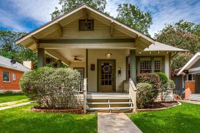 Dallas Single Family Home For Sale: 119 N Willomet Avenue