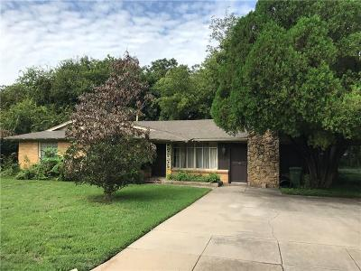 North Richland Hills Single Family Home For Sale: 4109 Vance Road