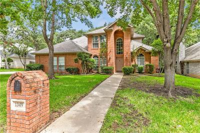 Azle Single Family Home For Sale: 1349 Spinnaker Lane
