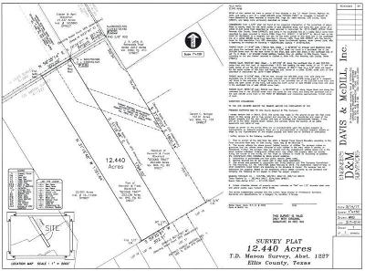 Waxahachie Residential Lots & Land For Sale: 0000 Angus Road