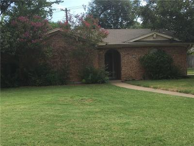 Bedford Single Family Home Active Option Contract: 2500 Shady Grove Drive