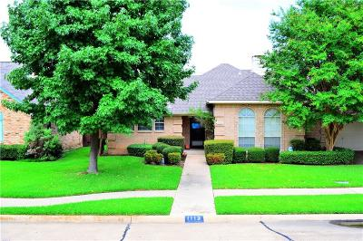 Irving Single Family Home For Sale: 1113 Churchill Drive