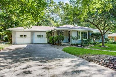 Denton Single Family Home Active Option Contract: 827 Greenwood Drive