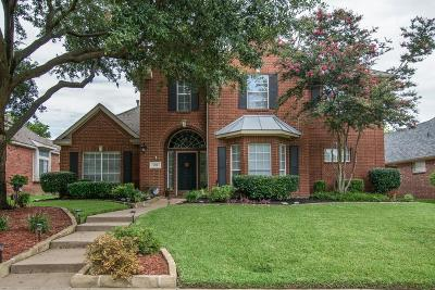 Allen Single Family Home Active Option Contract: 1128 Belvedere Drive