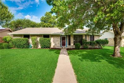 Rowlett Single Family Home Active Option Contract: 3706 Bond Street