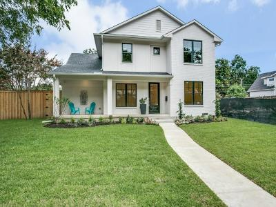Dallas Single Family Home For Sale: 6907 Santa Maria Lane
