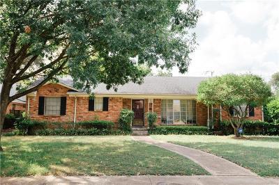 Dallas Single Family Home For Sale: 3116 Sharpview Lane