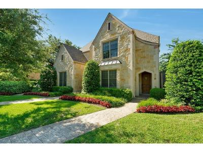 Fort Worth Townhouse For Sale: 5431 El Campo Ave