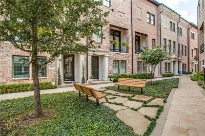 Dallas Townhouse For Sale: 2130 Tetley Drive