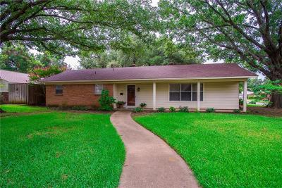 Arlington Single Family Home For Sale: 1706 W Tucker Boulevard