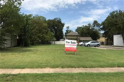 Dallas Residential Lots & Land For Sale: 717 Sunset Avenue