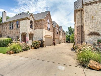 Dallas Townhouse For Sale: 2207 Apollonia Lane