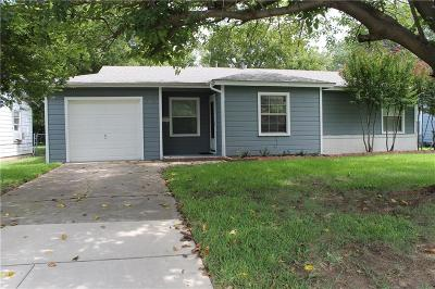 North Richland Hills Single Family Home Active Option Contract: 3722 Rogene Street