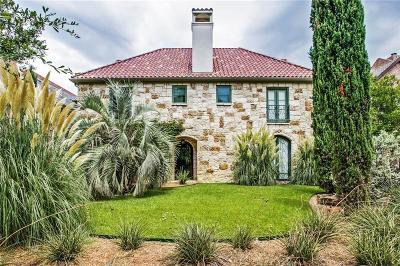 Highland Park, University Park Single Family Home For Sale: 3606 Binkley Avenue