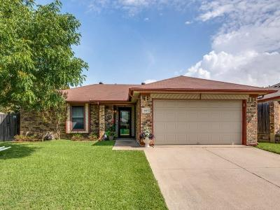 Watauga Single Family Home Active Option Contract: 6617 Willow View Drive