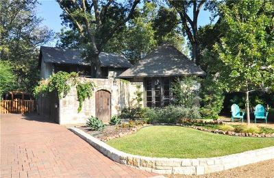 Dallas Single Family Home For Sale: 9411 Northcliff Drive