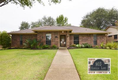 Flower Mound Single Family Home For Sale: 903 Fairfield Lane