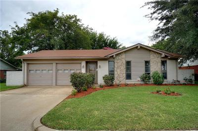 North Richland Hills Single Family Home Active Option Contract: 7521 Lola Drive