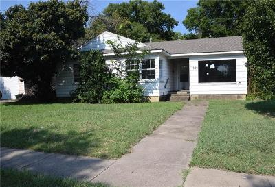Arlington Single Family Home For Sale: 1500 Carswell Terrace