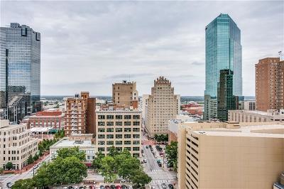 Fort Worth Condo For Sale: 500 Throckmorton Street #1411