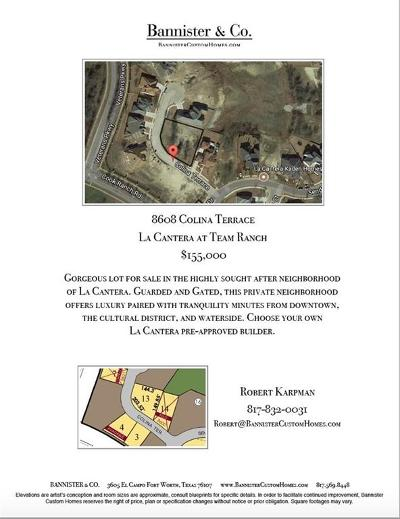 Tarrant County Residential Lots & Land For Sale: 8608 Colina Terrace