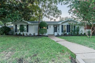 Dallas Single Family Home For Sale: 7515 La Avenida Drive